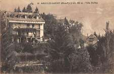Argeles Gazost in France Hotel  Antique Postcard L889