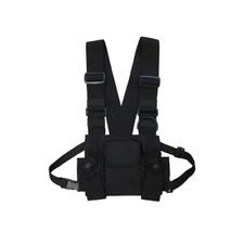 Tactical Chest Rig Bag Vest  Hip Hop Shoulder Bag Adjustable Men and Women Packs