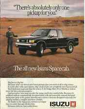 ISUZU SPACECAB PICKUP 1988 MAGAZINE AD  INV#174