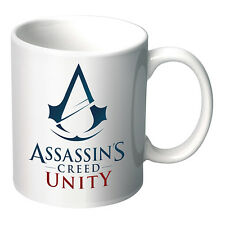 ASSASSINS CREED UNITY Coffee Mug WHITE Man Cave Christmas Birthday Fathers Gift