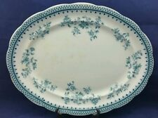 "Early 20th c Burgess & Leigh Florida Pattern 16"" Long Meat Plate / Platter"