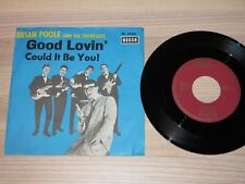 """BRIAN POOLE AND THE TREMELOES 7 """" Single - GOOD LOVIN' ' / GERMAN DECCA IN MINT"""