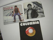 Bruce Springsteen 45 Lot Of 3 Picture Sleeve Cover Me Fade Away Pink Caddy