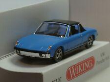 Wiking VW Porsche 914, blau - 0792 07 - 1:87
