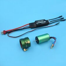 2440 KV4500 Water Cooling Brushless Motor 40A ESC BEC for RC Boat Jet Marine Car