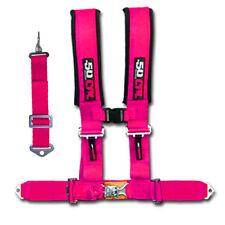 NEW 5 Point kid Pink Seat Belt Safety Harness UTV XP1000 RZR RZR4 Adult 900S SXS