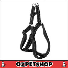 Rogz Utility Step In Dog Harness - Reflective Stitching - Easy Fit - Black