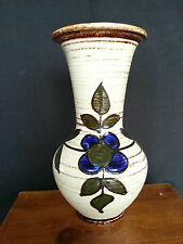 vintage mid century pottery vase handcrafted austria 4231-27 Beautiful Maker??