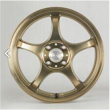 5ZIGEN ProRacer FN01R-Cα 6.5J-16 +42 4x100 Clear Bronze set of 4 rims from JAPAN