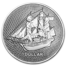 COOK ISLAND 1 Dollar Argent 1 Once Bounty 2021