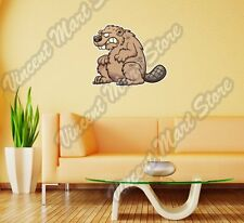 "Angry Beaver Angry Cartoon Kids Wall Sticker Room Interior Decor 25""X22"""