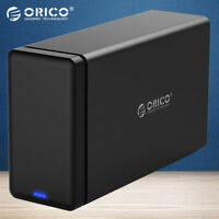 ORICO 2 Bay USB 3.0 Hard Drive Dock HDD Enclosure Case for 3.5'' HDD Tool Free