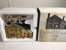 Department 56 New England Village Nathaniel Bingham Fabrics And Post Office