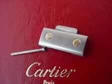 CARTIER SANTOS galbee LINK 18K GOLD STAINLESS 12mmLINK Ladies CARTIER 12MM Real