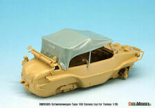 1/35 Scale resin model kit Schwimmwagen Type 166 Canvas Top (for Tamiya)