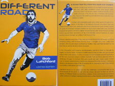 Signed Book A Different Road Bob Latchford Limited Special Edition EFC Everton