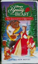 Beauty and the Beast: An Enchanted Christmas (VHS, 1997) Tested & 100%Guaranteed