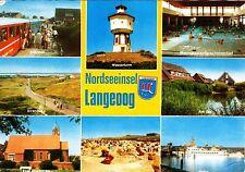 Nordseeheilbad Langeoog , Ansichtskarte , 1983 gelaufen