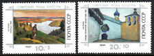 Russia B176-B177, MNH. Soviet Culture Fund. Paintings by Roerich, 1990