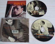 VERSION 2 CD ALBUM BEST OF QUAND ON A QUE L'AMOUR JACQUES BREL 37 TITRES 1996