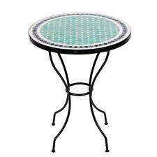 Marokkanischer Mosaiktisch orientalischer Tisch Bistrotisch Gartentisch 60cm Fer