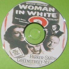 FILM NOIR 343: THE WOMAN IN WHITE 1948 Peter Godfrey Smith, Parker, Greenstreet