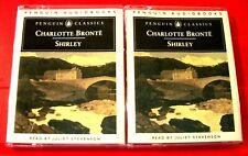 Charlotte Bronte Shirley 4-Tape Audio Book Juliet Stevenson Penguin Classics