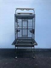 """Bird Cage 65"""" Large Play Top Parrot Finch Cage Macaw Cockatoo Pet Supply"""