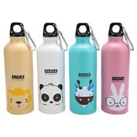 500ML Lovely Animal Sport Cycling Camping Water Bottle Child Mug Aluminum