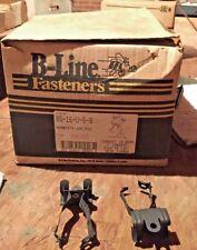 B-LINE BG-16-U-5-8 Conduit Clip, 75Lb Max, Flange 5/16-1/2 In, Approx.100 PCS
