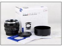 Zeiss Planar T* 50mm 1.4 ZE Canon EOS 6II 5D IV 6D 1Dx 1DS Mark II 800D