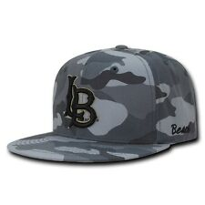 NCAA CSU Long Beach Cal State University Camo Camouflage Snapback Caps Hats