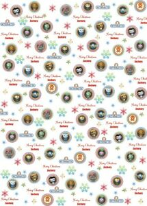 Personalised Octonauts Christmas Wrapping Paper