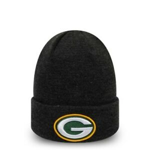 Green Bay Packers NFL Essential Grey Cuff New Era Knit | New w/Tags |Top Quality