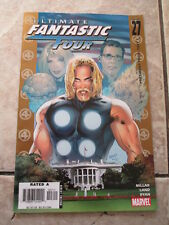Marvel Ultimate Fantastic Four President Thor Part 1 Issue 27 Comics Comic Book