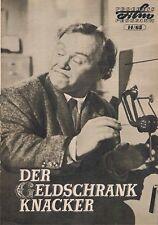 Progress Filmprog. Nr. 14/65 Der Geldschrankknacker ( Charlie Drake )