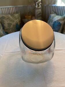Tilt style Sugar Jar for Hoosier Kitchen Cabinet