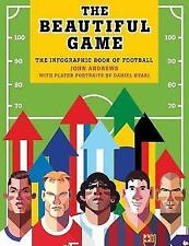 The Beautiful Game: The infographic book of football by John Andrews (Paperback,