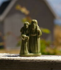 Wade Whimsies Mini Figurine Red Rose Tea England Green Noah & Wife