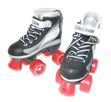 Roller Derby Youth Boys Firestar Roller Skate, Black/Gray Size Jr 13