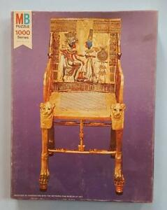 "King Tut ""Golden Throne"" Puzzle,  Metropolitan Museum of Art.  RARE."