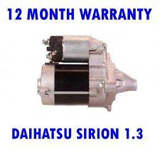 DAIHATSU SIRION 1.3 1.5 2005 2006 2007 2008 2009 2010 - 2015 STARTER MOTOR