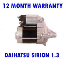 DAIHATSU SIRION 1.3 1.5 2005 2006 2007 2008 2009 2010 - 2015 RMFD STARTER MOTOR