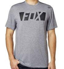 NWT MENS FOX RACING $44 LIBRA HEATHER GRAPHITE TECH TEE T-SHIRT XL X-LARGE NEW