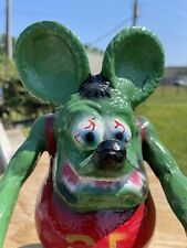 Rat Fink 12� made of cast aluminum Statue
