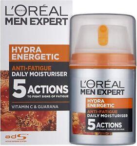 L'Oreal Paris Men Expert Hydra Energetic ANTI-FATIGUE MOISTURISER FOR MEN 50 ml