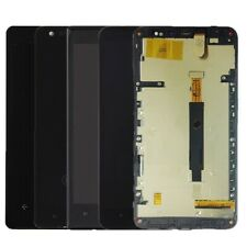 Nokia Lumia LCD Display Touch Screen Digitizer Glass Lens + Frame Assembly