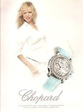 PUBLICITE advertising  2000 CHOPARD La Montre femme