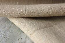 Linen upholstery fabric material HEMP homespun Antique 14YDS cutting bolt