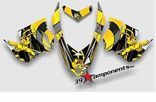 SKI DOO REV XP SNOWMOBILE SLED GRAPHICS DECAL KIT KILLER BEE WASP ECONO